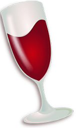 "Wine (originally an acronym for ""Wine Is Not an Emulator"") is a compatibility layer capable of running Windows applications on several POSIX-compliant operating systems, such as Linux, macOS, & BSD."