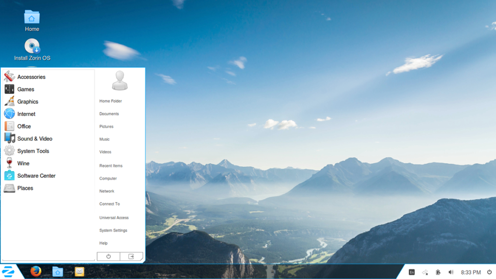 Zorin OS is a multi-functional operating system designed specifically for Windows users who want to have easy and smooth access to Linux. It is based on Ubuntu, and uses a customized version of Gnome and the Avant Window Navigator which they call the 'Zorin Desktop'.